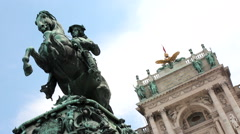 HOFBURG 1 - stock footage
