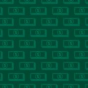 Seamless background with dollar signs. money concept Stock Illustration