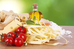health food - stock photo