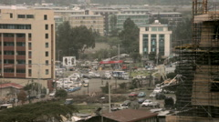 Stock Video Footage of Traffic in Addis Ababa