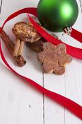 christmas sweets and pastries - stock photo