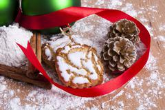 Christmas sweets and pastries Stock Photos