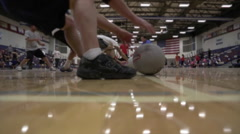 Dodgeball ball Game Stock Footage