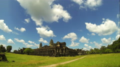 Angkor Wat temple time lapse. 4K resolution Stock Footage