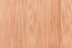 Scratched bamboo chopping board Stock Photos