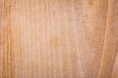 Scratched wooden chopping board Stock Photos
