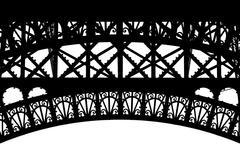 Paris, eiffel tower particular Stock Photos
