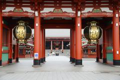 asakusa temple - stock photo