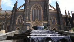 St. Patricks Cathedral in Melbourne, Australia - stock footage