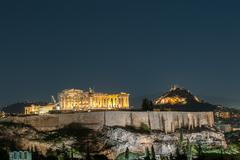 acropolis of athens, greece - stock photo
