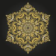 Orient Vector Pattern. Abstract Background Stock Illustration