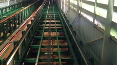 Modern Elevator Shaft - stock footage