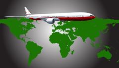Aeroplane Stock Illustration