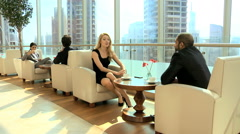 Western Gulf Region business male female travel conference convention meeting Arkistovideo