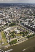 UK, England, Aerial view of Tower of London Kuvituskuvat