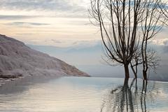 Turkey, Pamukkale Terrace - stock photo