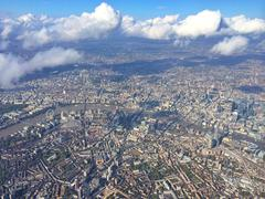 UK, England, London, Aerial view of city Kuvituskuvat