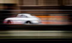 Austria, Salzburg, Classic car at high speed Stock Photos