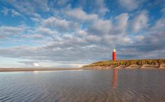 Holland, Lighthouse of Texel - stock photo