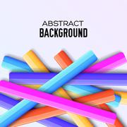 Abstract rainbow banner form background concept. Vector illustra - stock illustration