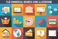 set of flat communication concepts illustrations. Vector backgro - stock illustration