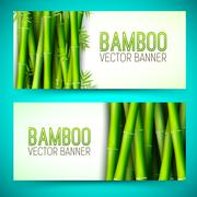 Bamboo  background concept. Vector illustration - stock illustration