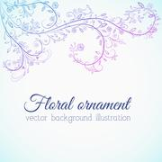 Stock Illustration of floral nature background concept. illustration