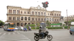 Palermo railway station Stock Footage