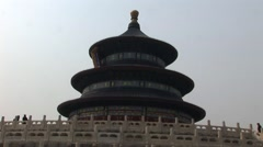 Temple of Heaven China Stock Footage