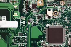 Stock Photo of electronic micro circuit
