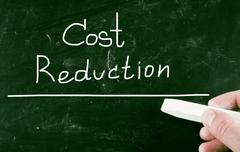 Stock Illustration of cost reduction