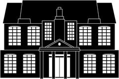 Classical house Stock Illustration
