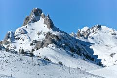 Snow mountain Kuvituskuvat