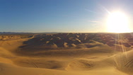 Stock Video Footage of Algodones Sand Dunes Off Road Vehicle Recreation Area- Glamis CA