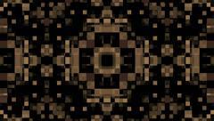 Retro Brown Pixel Background, Loop, HD, 1080 Stock Footage