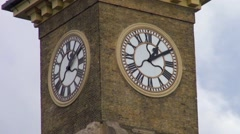 Kings Cross Mainline Railway Station, London Stock Footage