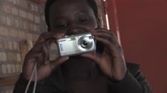 African Students In A School In Rwanda Stock Footage