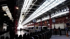 Marylebone Railway Station, London Stock Footage