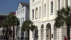 County courthouse, broad street, charleston, sc, usa Stock Footage