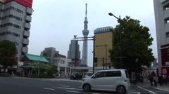 Tokyo Japan City Life Stock Footage