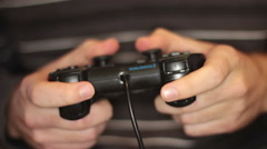 Video Game Controller - stock footage