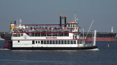 Carolina queen riverboat, charleston, sc, usa Stock Footage