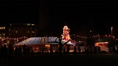 Edinburgh christmas (scotland) Stock Footage