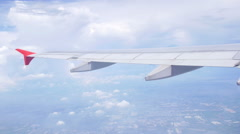 Flight high above the ground. Stock Footage