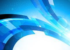 bright blue background - stock illustration