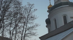 the ancient Orthodox Church of Elijah - stock footage