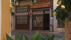 Tabacco shop, Spain Stock Footage