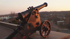 Old cannon Stock Footage