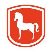 Stock Illustration of equestrian design