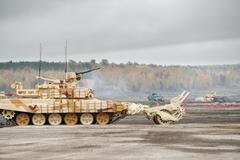 Armored deminer bmr-3m (russia) Stock Photos